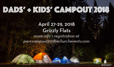 Dads' + Kids' Campout
