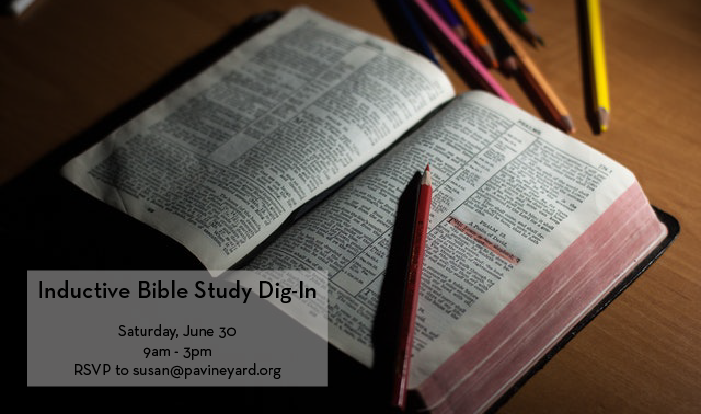 Inductive Bible Study Dig-In