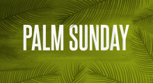 Palm Sunday: Then and Now
