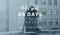 Come Holy Spirit | 40 Days Of Prayer & Fasting - May 27 2019