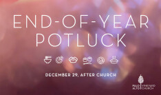 End of the Year Potluck