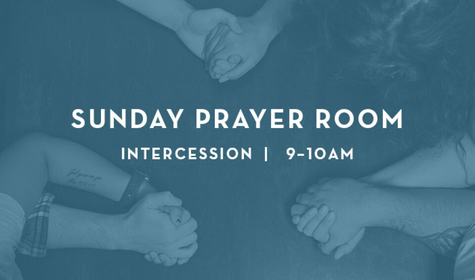 Sunday 9am Intercession