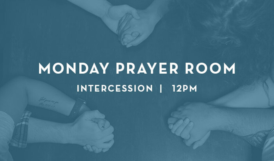 Monday 12pm Intercession