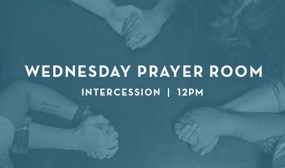 Wednesday 12pm Intercession