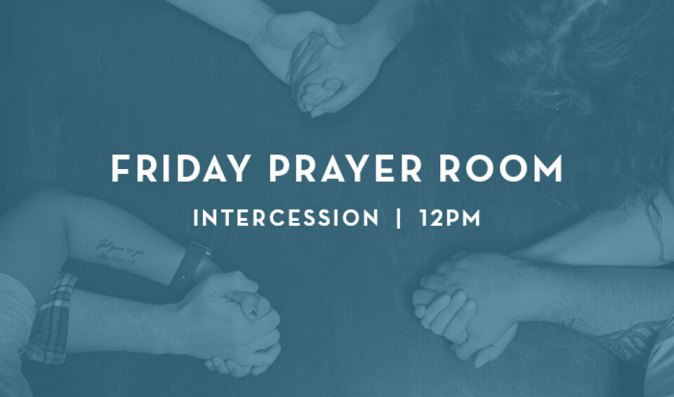Friday 12pm Intercession