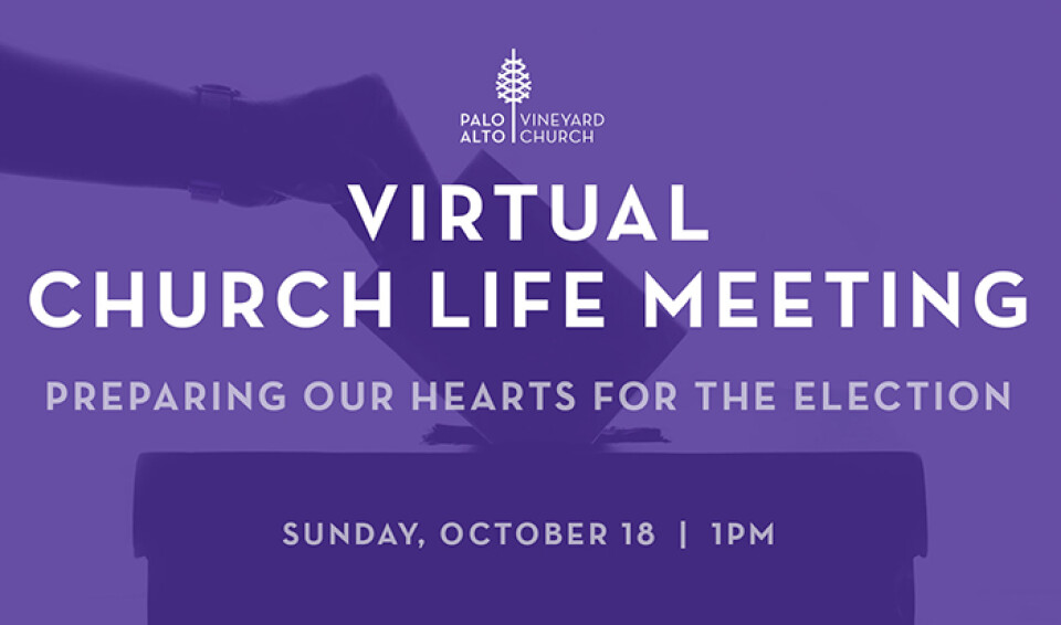 Virtual Church Life Meeting 10/18/2020